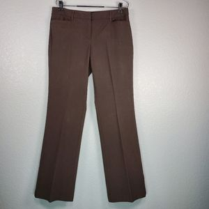 New York & Company Stretch brown trousers size: 8